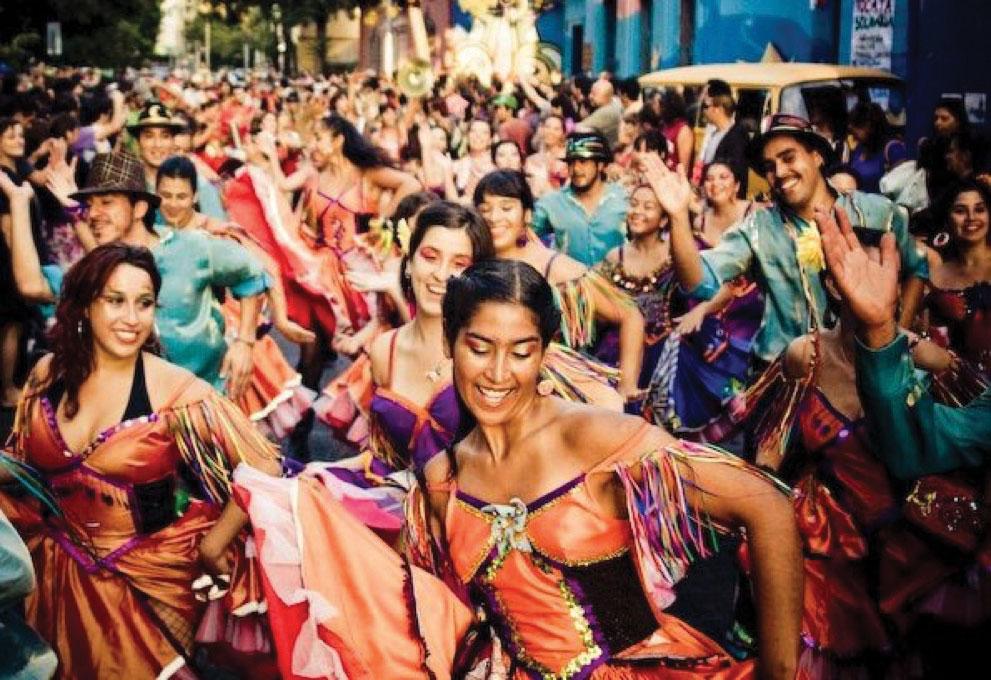 Chinchintirapié, Carnaval de la Challa 2008